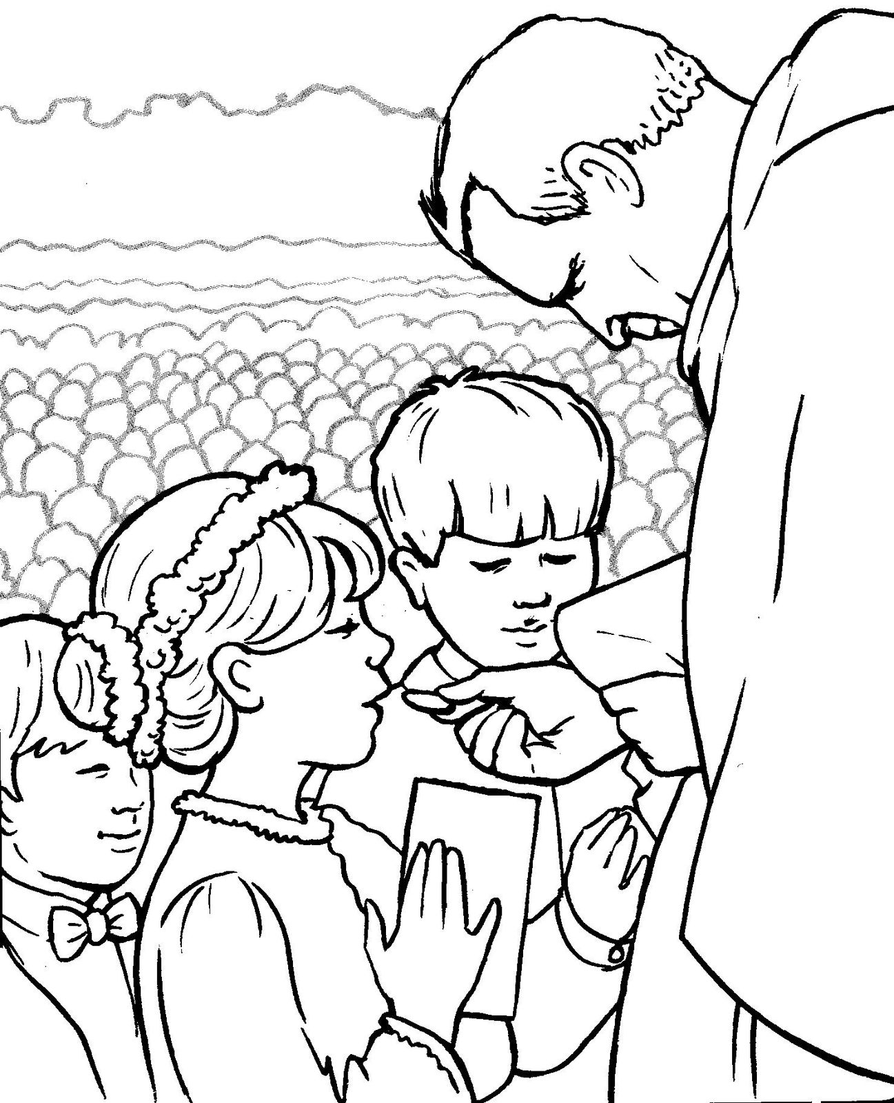 Sacraments coloring pages free